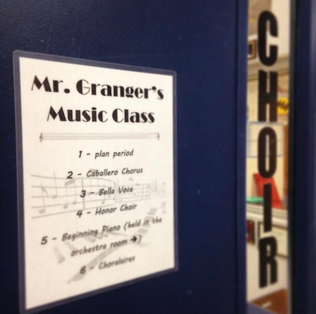 My FWHS classroom