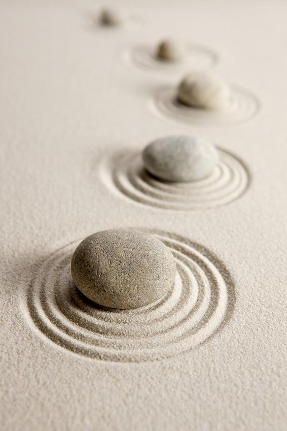 Ruhe und Ausgeglichenheit