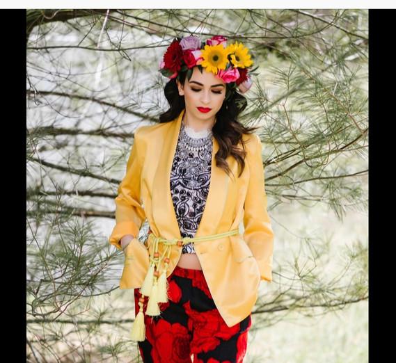 Frida Kahlo inspired photoshoot