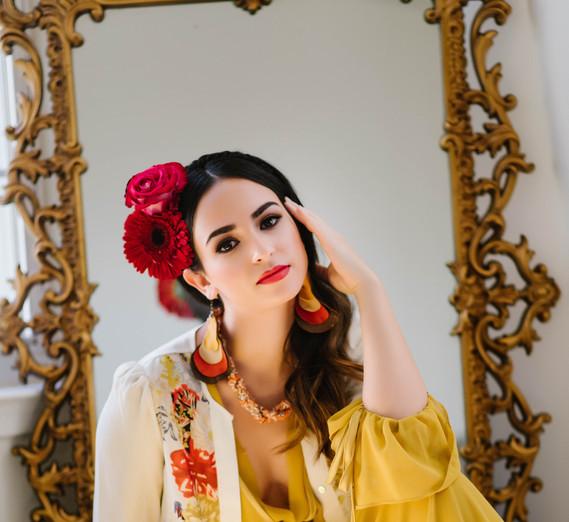 Frida Kahlo inspired photo shoot