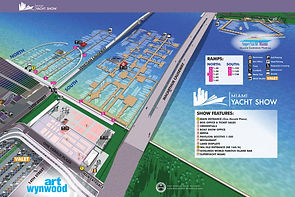Miami Yacht Show 2020 Map