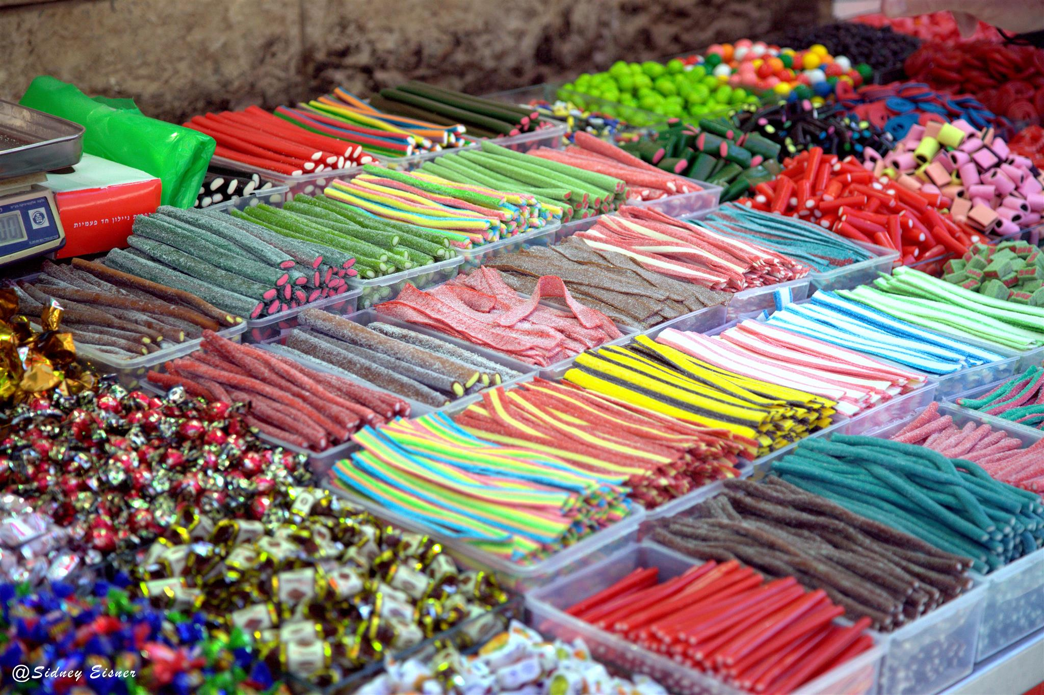 Shuk Machane Yehuda candies