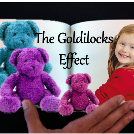 Social media and the Goldilocks Effect