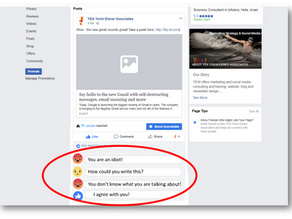 7 steps to handle nasty comments to your business posts on social media