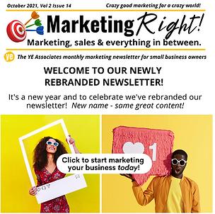 Marketing RIGHT newsletter YE Associates.png