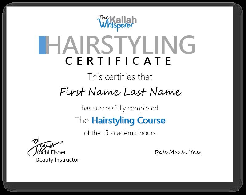 Hairstyling Diploma