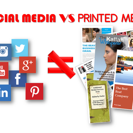 IT AIN'T ALL ABOUT THE SOCIAL MEDIA or PAPER PRINTING ISN'T DEAD – IT'S JUST BECOME MORE SELECTIVE