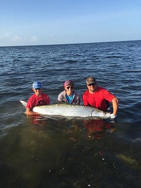 Charter Fishing off Big Pine Key