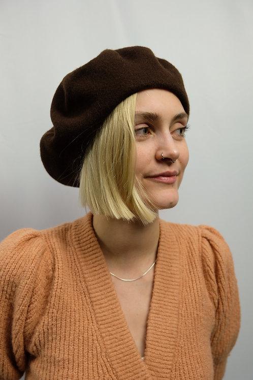 Vintage Baskenmütze