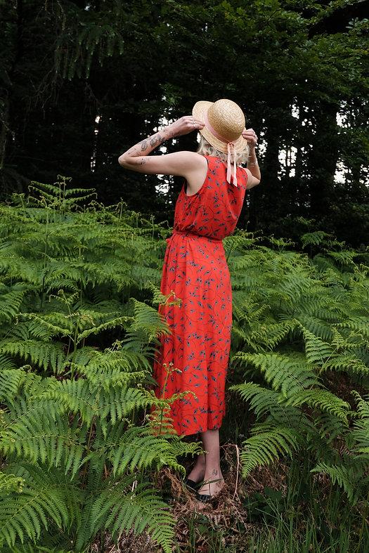 Sommerkleid aus der Unikat Vintage & Secondhand Kollektion