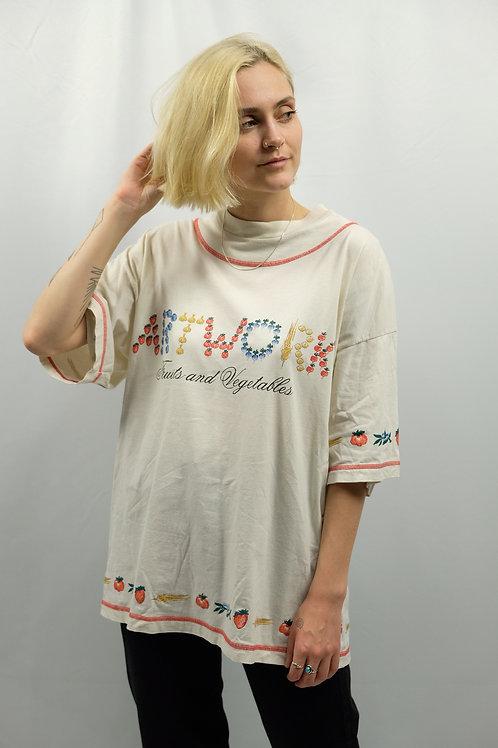 Vintage 90s Oversize T-Shirt  - M