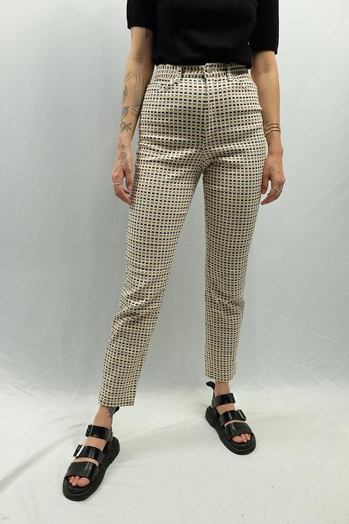 Vintage High Waist Skinny Jeans  - XS
