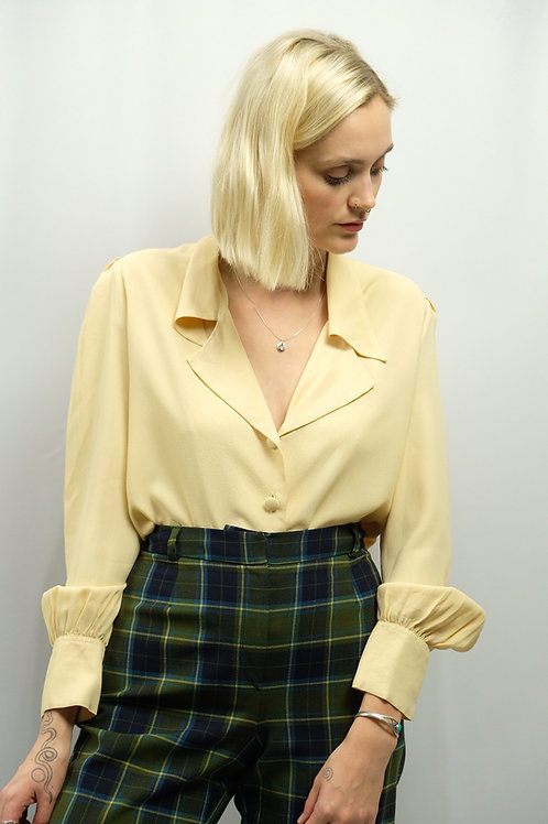 Vintage 60s/70s Bluse  - M