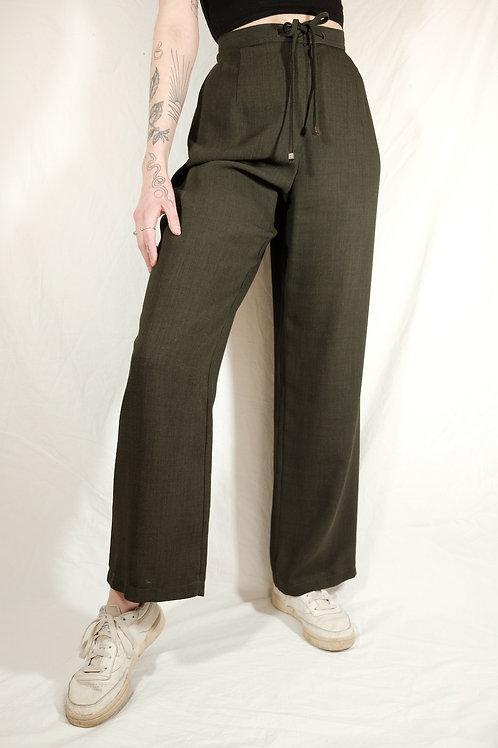 Vintage High Waist Sommerhose  - XL