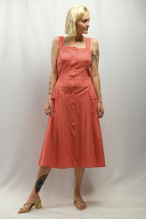Vintage 70s Sommerkleid  - XL