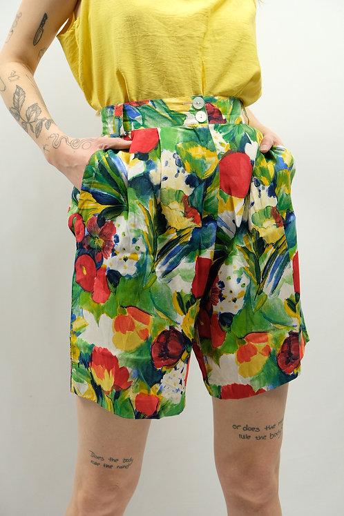 Vintage High Waist Shorts  - M