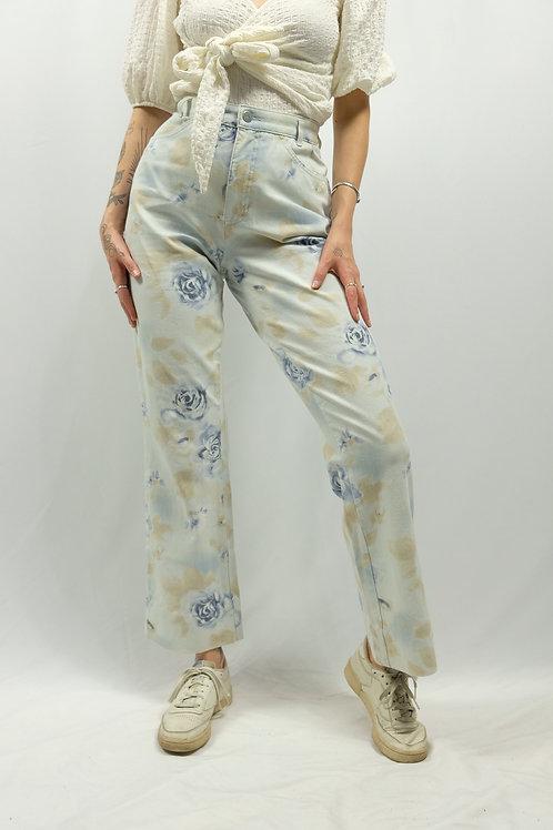 Vintage MAC High Waist Flared Leg Jeans  - M