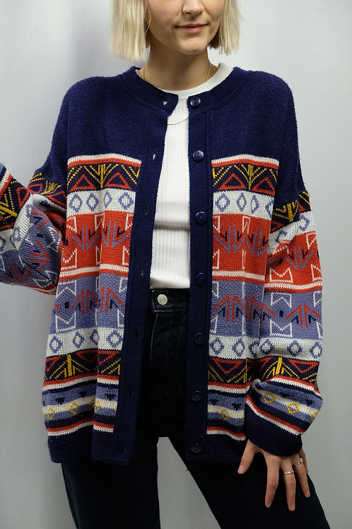 Vintage 80s Cardigan  - M