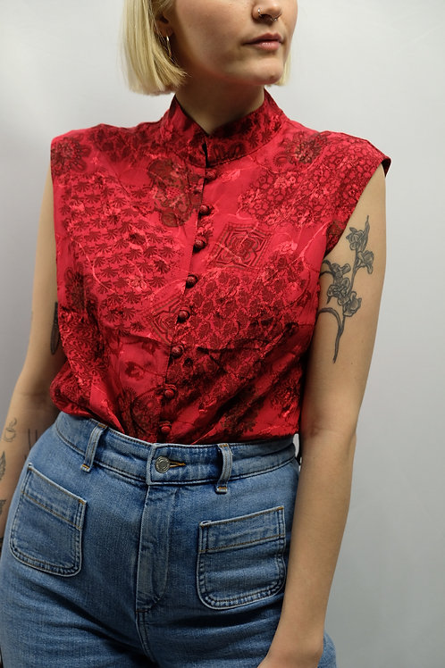 Vintage Asia Bluse  - M