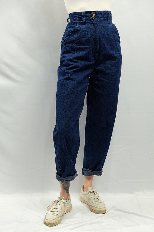 Vintage High Waist Jeans  - S