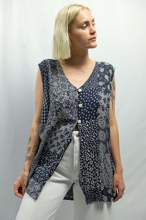 Vintage Bluse  - L