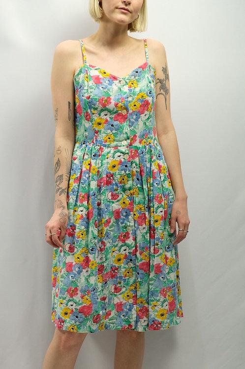 Vintage Blümchenkleid  - M