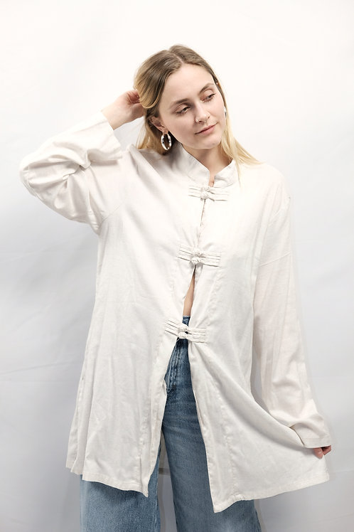 Vintage 90s Bluse  - XL