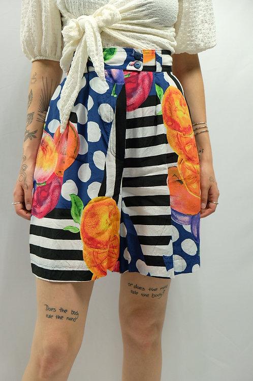 Vintage High Waist Shorts  - XS