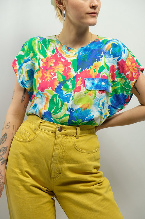 Vintage Bluse  - S