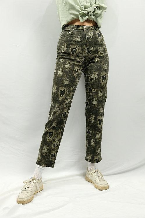 Vintage High Waist Jeans  - XS