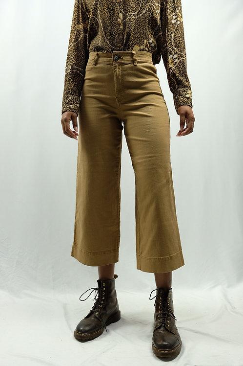 H&M High Waist Jeans-Culotte - S