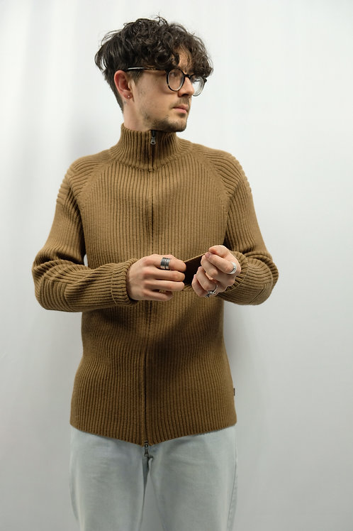 Vintage Zip Pullover  - L