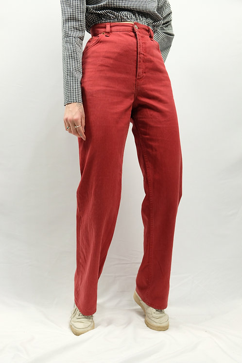 Vintage Straight Leg Jeans  - XL