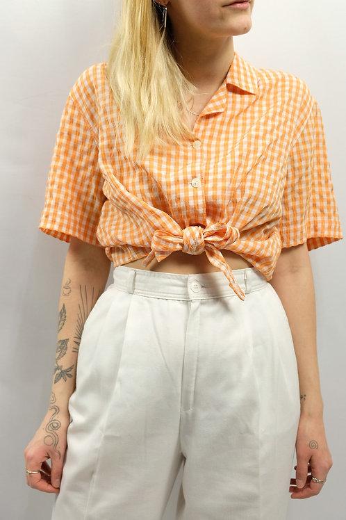 Vintage Cropped Bluse  - S