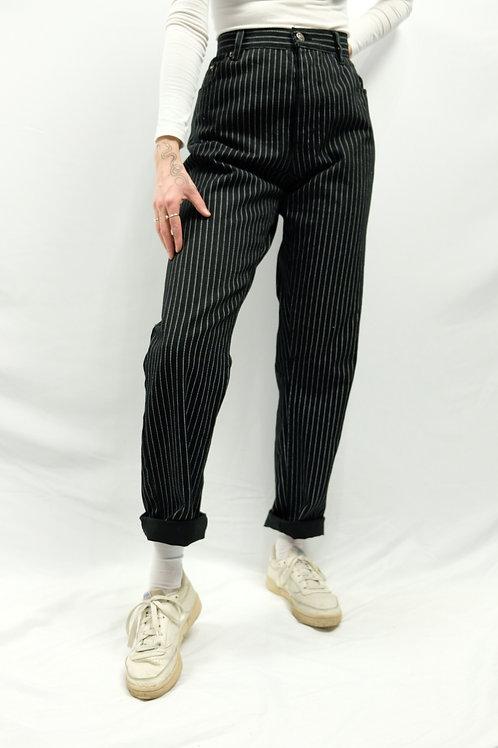 Vintage High Waist Jeans  - XL
