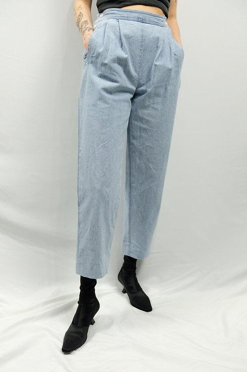 Vintage High Waist Balloon Jeans  - S