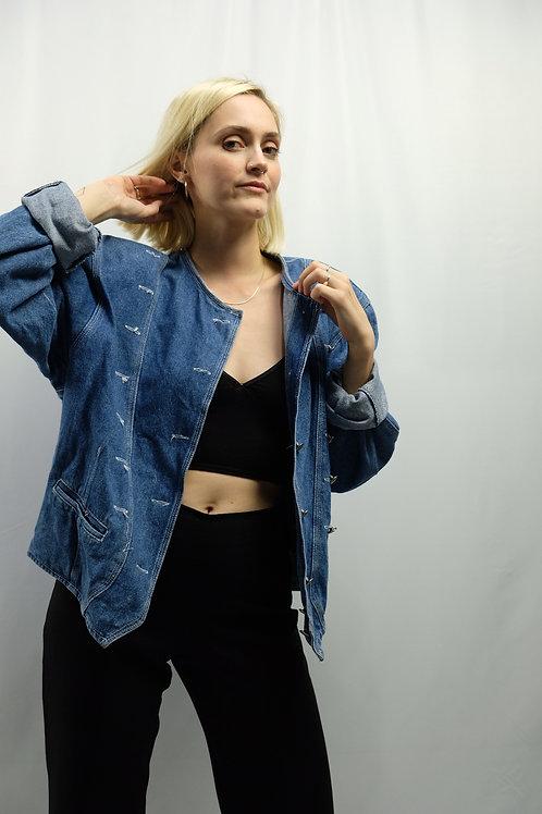 Vintage 80s/90s Jeansjacke  - XL
