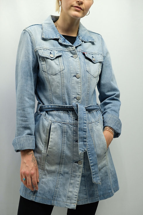 Vintage 2000er Miss Sixty Jeans-Trenchcoat  - XS