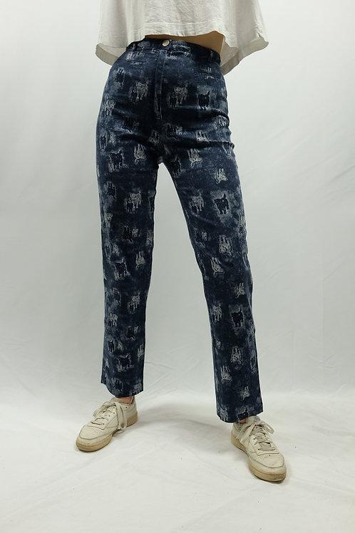 Vintage High Waist Mom Jeans  - XS