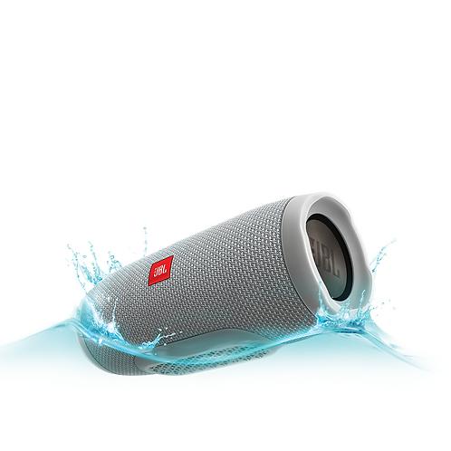 JBL Charge 3 Waterproof Portable Speaker - Grey