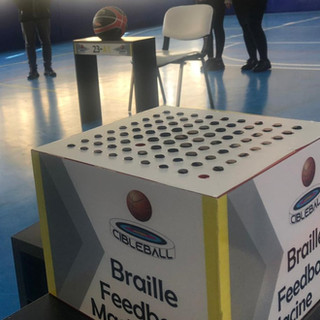 Braille machine for Deaf-blind trainer