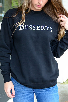Desserts Crewneck