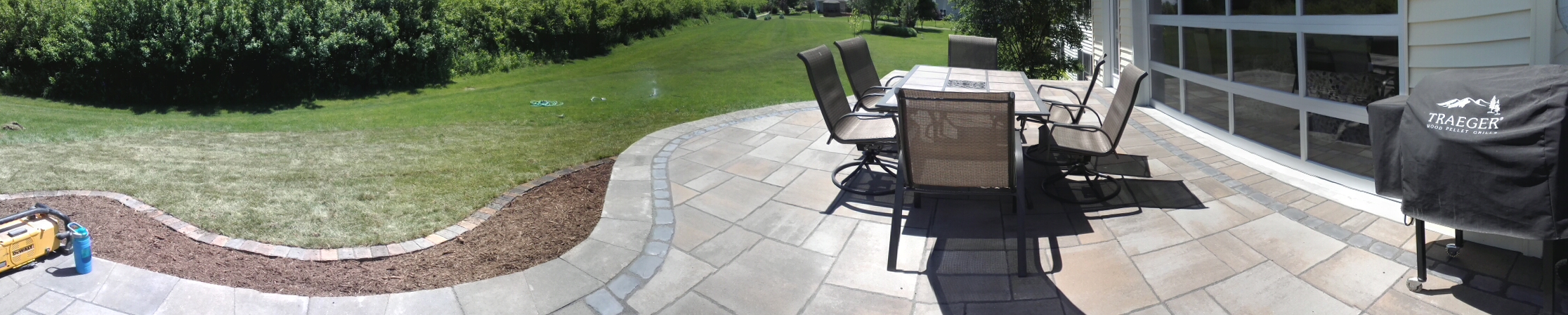 Raised Patio - Barrington Santa Fe