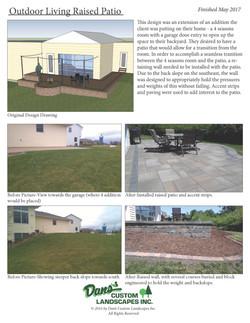 Outdoor Living-raised patio