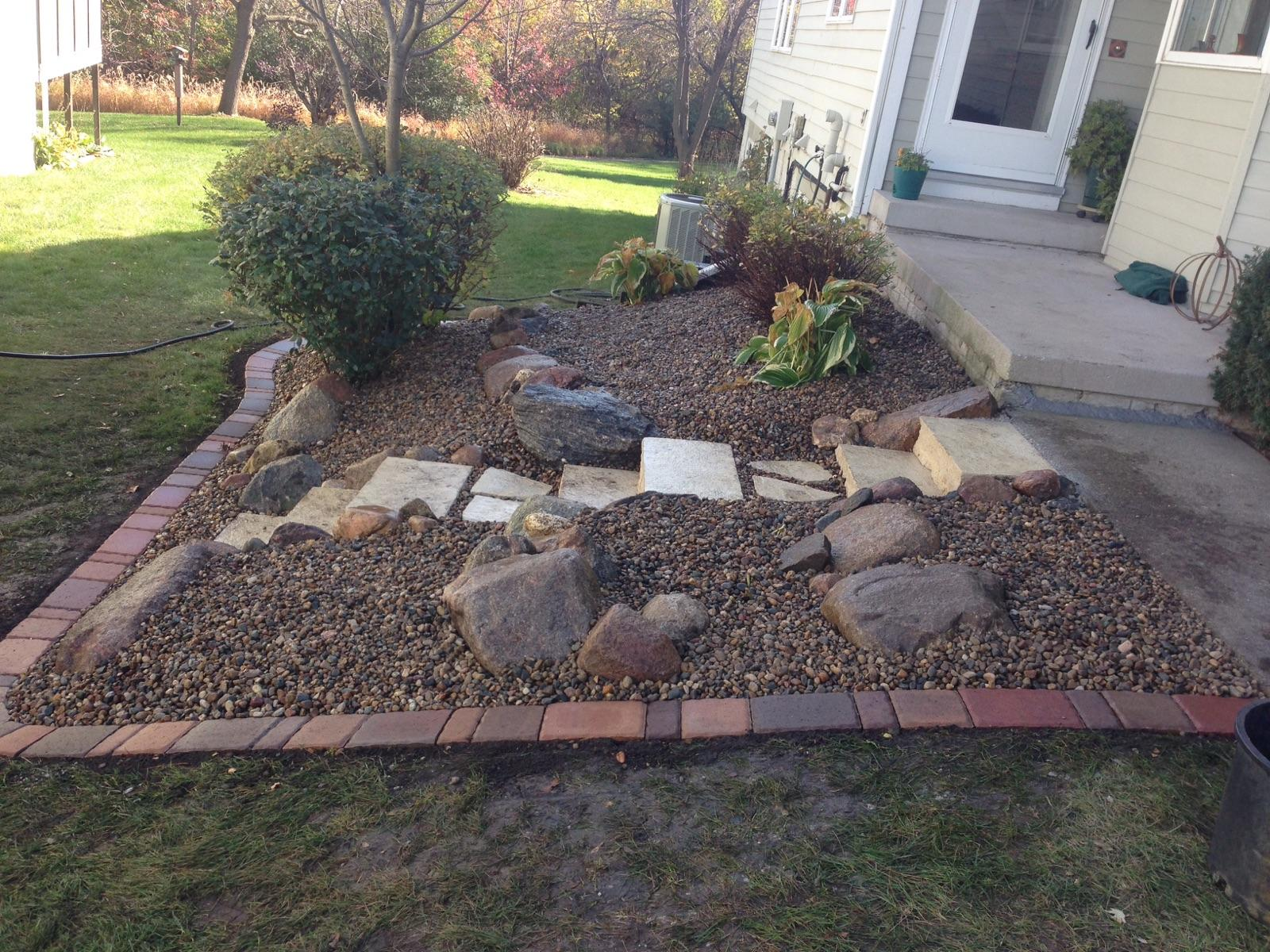 Tiered Boulder Walls and Steps