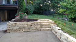 Natural Limestone Retaining Walls