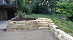 Natural Limestone Retaining Walls