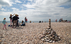 pebble building competition