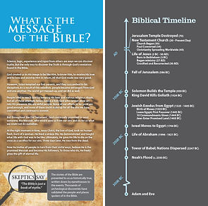 The Bible: What is the Message of the Bible?