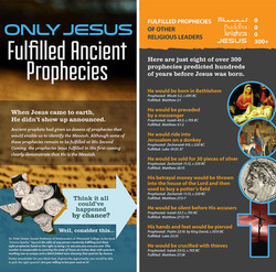 Only Jesus fulfilled ancient prophec